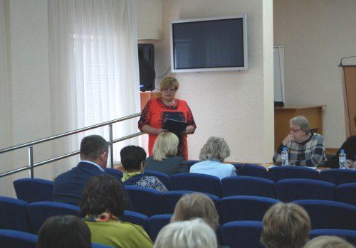 Семинар для специалистов АНО - Центров социального обслуживания населения Самарской области.