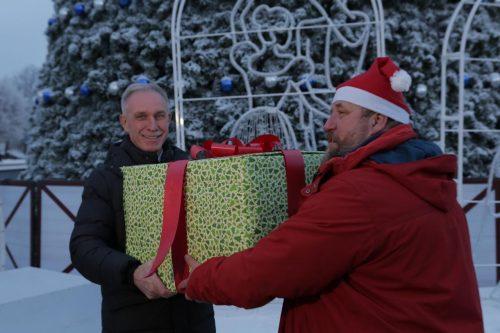 """22 декабря был дан старт акции """"Караван Добра"""" в Ульяновской области."""