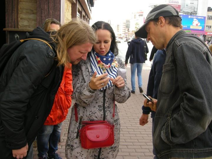 Участники акции. Фото из архива ЦОКП «Клевер»