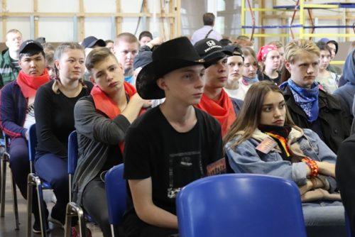 В Оренбурге на базе ОООЦДиМ «Янтарь» прошел слет для кандидатов в бойцы студенческих отрядов «Лампа»