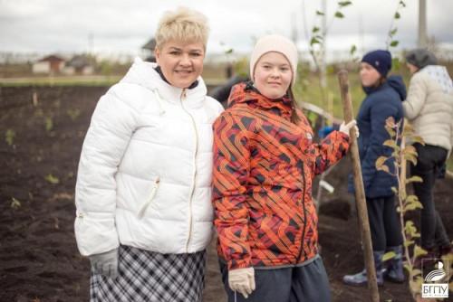 В Башкортостане участники проекта «Солнечный садовник» заложили плодовый сад