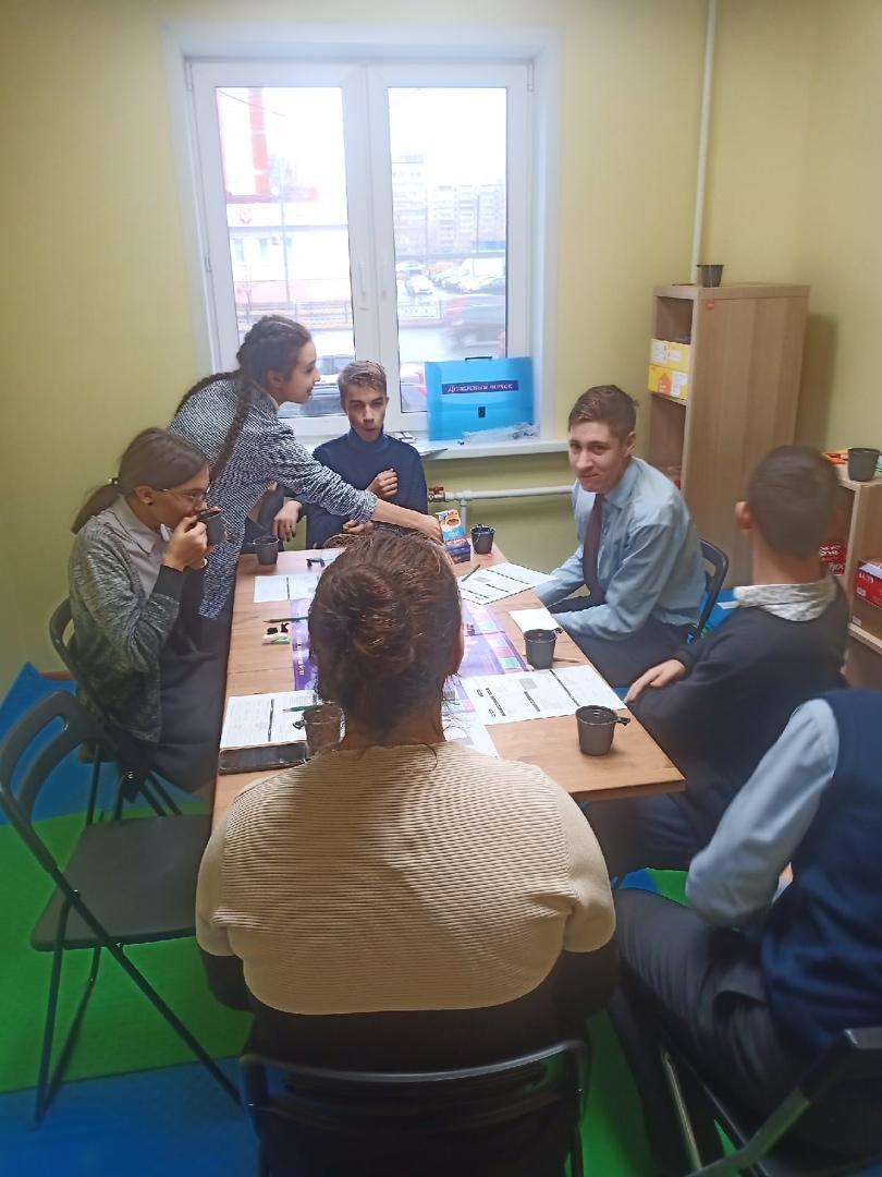 В центре игрофикации прошли игровые модули по профессиональному самоопределению подростков 14-17 лет
