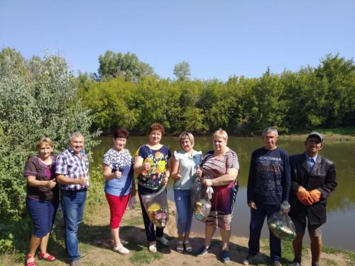 Проект «Реке Самара чистые берега» с. Бурдыгино, Оренбургская область